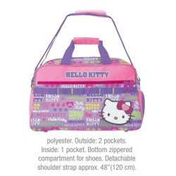 Hello Kitty Overnight Bag: Girly Sporty Collection