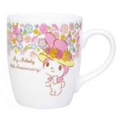 My Melody Mug 40th Anniversary Mug