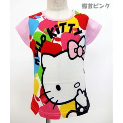 Hello Kitty French Sleeve T-Shirt P 110 Apple