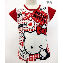 Hello Kitty French Sleeve T-Shirt R 110 Comic