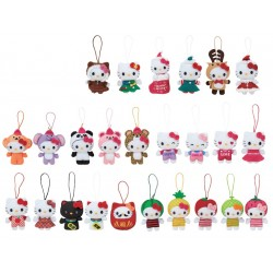 Hello Kitty Mascot Plush Ornament: Ast