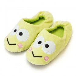 Keroppi Room Slippers: D-Cut