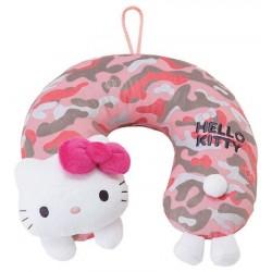 Hello Kitty Neck Pillow : Camouflage