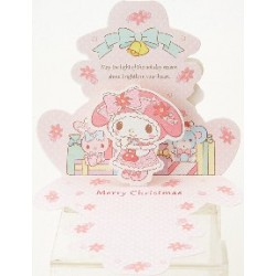 My Melody -5 Xmas Card:300Jx 102