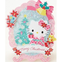 Hello Kitty -5 Xmas Card:400Jxkt1