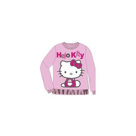 Hello Kitty Brshd Sweat Shirts Lp 110