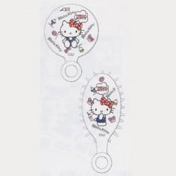 Hello Kitty Mirror & Brush Set: Goods