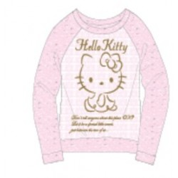 Hello Kitty Knit Long Sleeve Tee 100 Lp