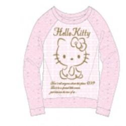 Hello Kitty Knit Long Sleeve Tee 110 Lp