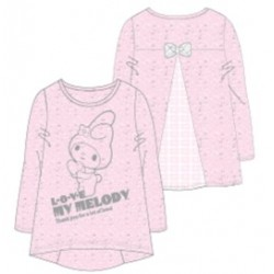 My Melody Lace Long Sleeve Tee 120 Lp