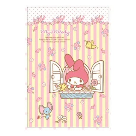 My Melody Notebook: Horizontal