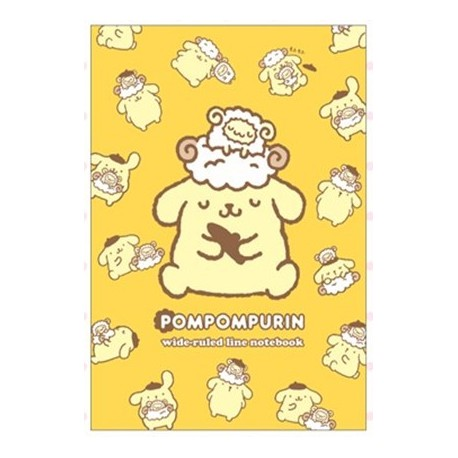 Pompompurin Notebook: Horizontal