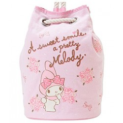 My Melody Cotton Drawstrng Backpack: