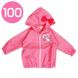 Hello Kitty Windbreaker / Rain Jacket : 100