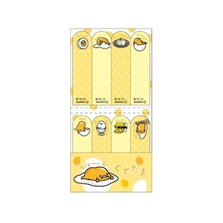 Gudetama Sticky Note Index