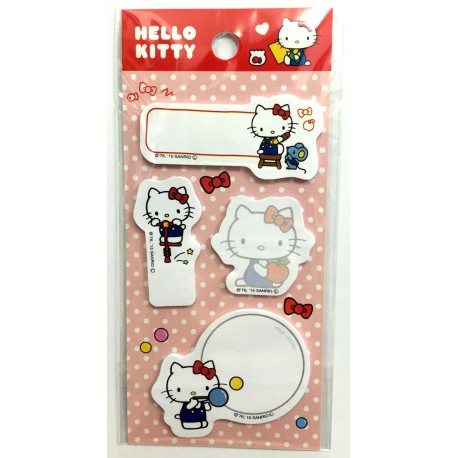 Hello Kitty Sticky Note: D-Cut