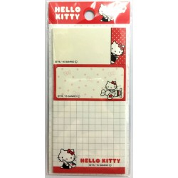 Hello Kitty Square Stiky Note 3P