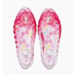 Hello Kitty Sandals: 17 P Flower
