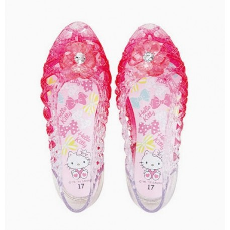 Hello Kitty Sandals: 17 P Flower