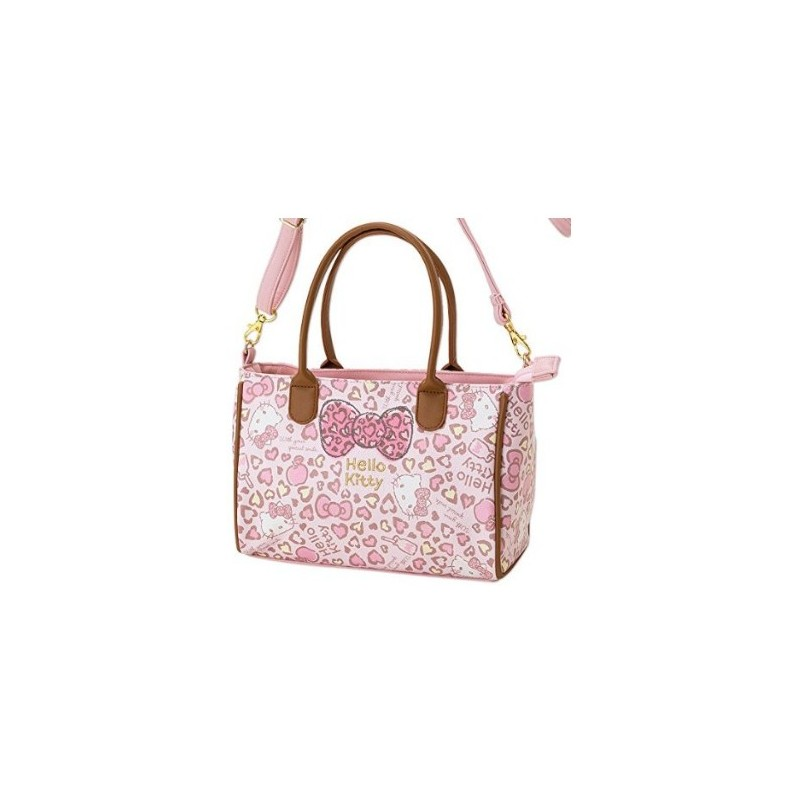 01f2860872 Hello Kitty Shoulder Bag  Leopard - The Kitty Shop
