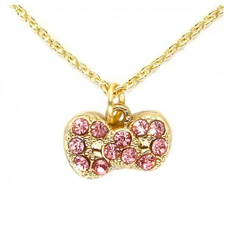 Hello Kitty Pave Necklace
