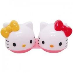 Hello Kitty Eye Contact Lenses Case