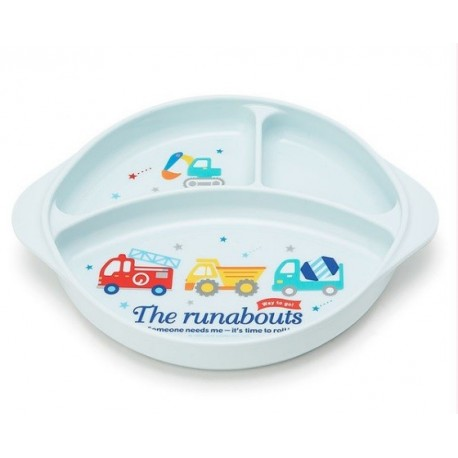 The Round About Plastic Plate: Logo