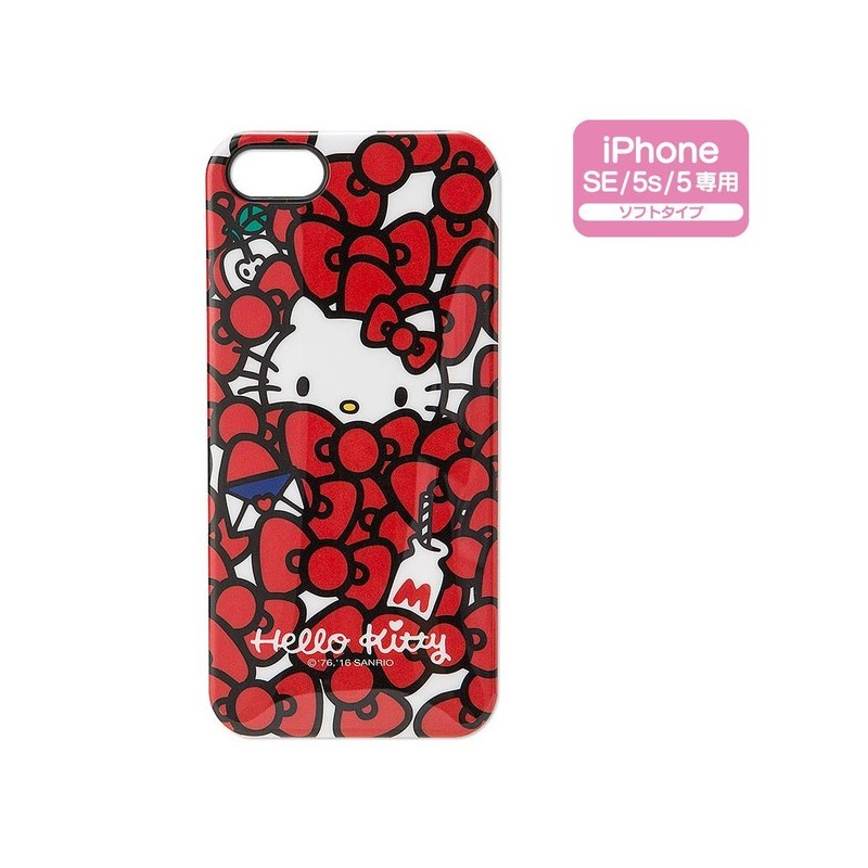 on sale fb0df 1bedb Hello Kitty iPhone 5 / 5s / SE Case: - The Kitty Shop