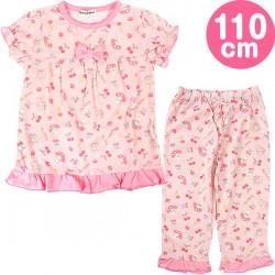 My Melody Half-Slvd Pajamas: 110 Chry