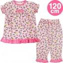 Hello Kitty Half-Slvd Pajamas: 120 Frt