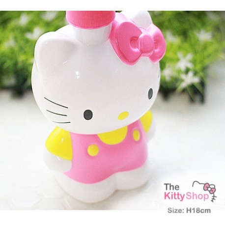 Hello Kitty Pump Container (Pink)