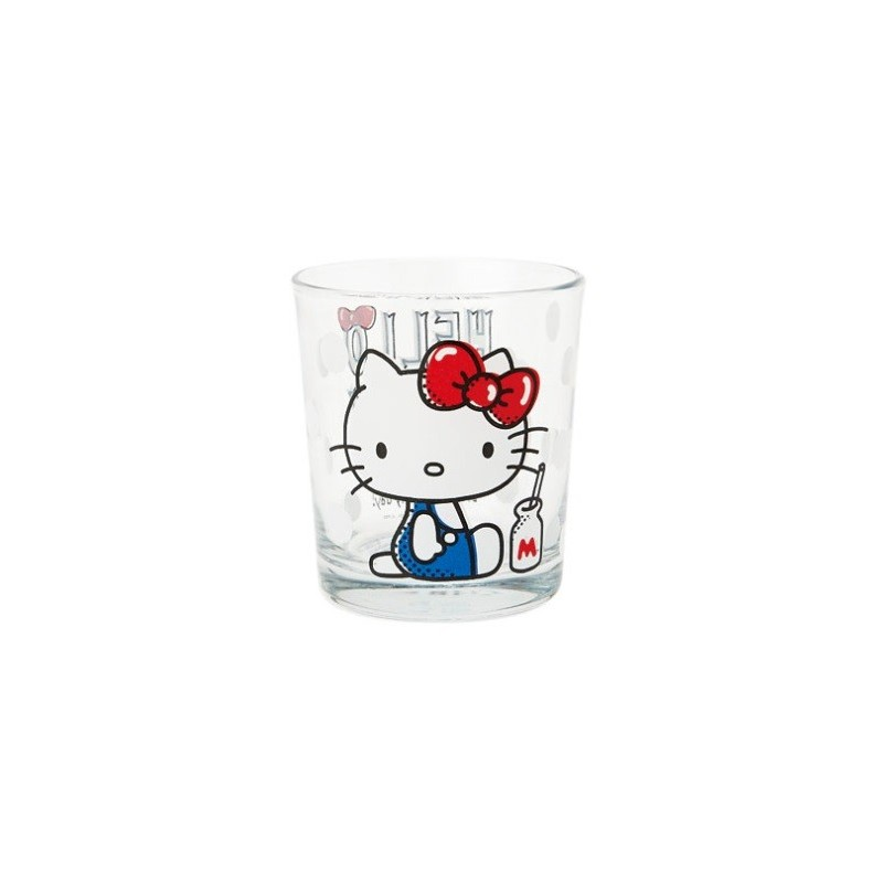 Hello Kitty Drinking Glass: Sitting - The Kitty Shop