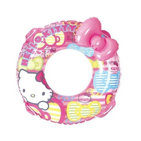 Hello Kitty Swimming Ring Float 80cm Ribbon