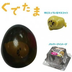 Gudetama Squishy Black