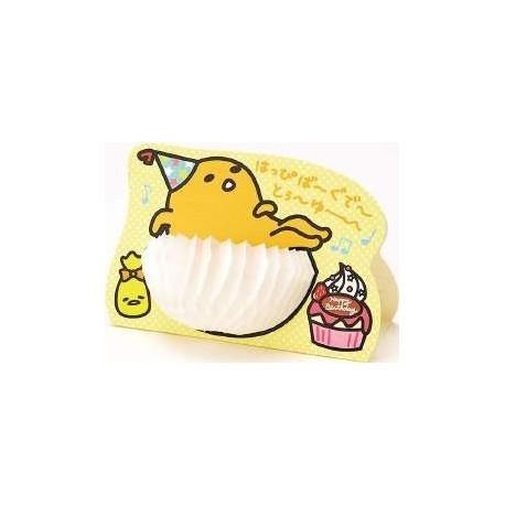 Gudetama Birthday Card Hat The Kitty Shop