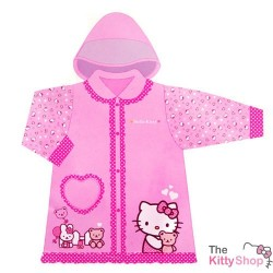 Hello Kitty Bear Love Rain Coat