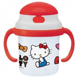 Hello Kitty Straw Hopper Mug Face