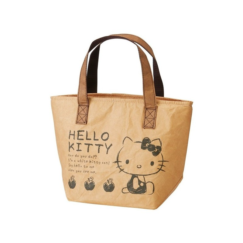Hello Kitty Lunch Tote Bag 70s The Kitty Shop