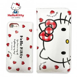 Hello Kitty iPhone7 Case Flip Heart