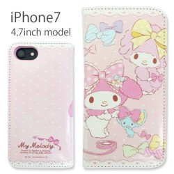 My Melody iPhone7 Case Flip Piano