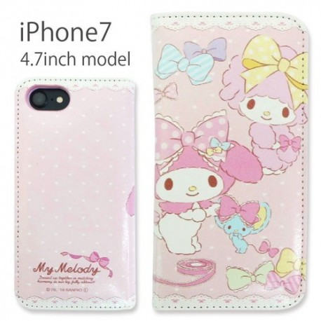 lowest price 72ae5 8d0f7 My Melody iPhone 7 / 8 Case Flip Piano - The Kitty Shop