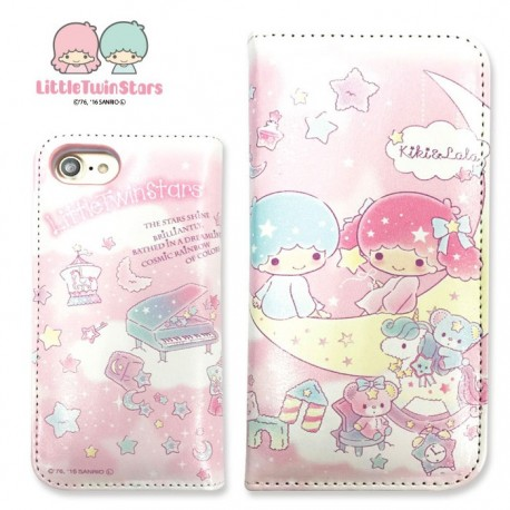separation shoes 3b45d 18934 Little Twin Stars iPhone 7 / 8 Case Flip Moon - The Kitty Shop