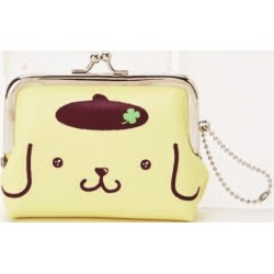Pompompurin Kishinkansen Lock Coin Purse