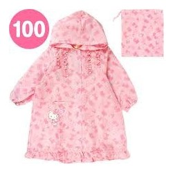Hello Kitty Raincoat: 100 Strawberry