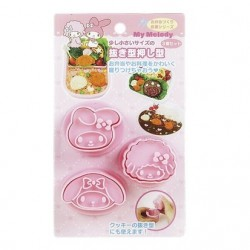 My Melody 3Pcs Cutter & Mold: S