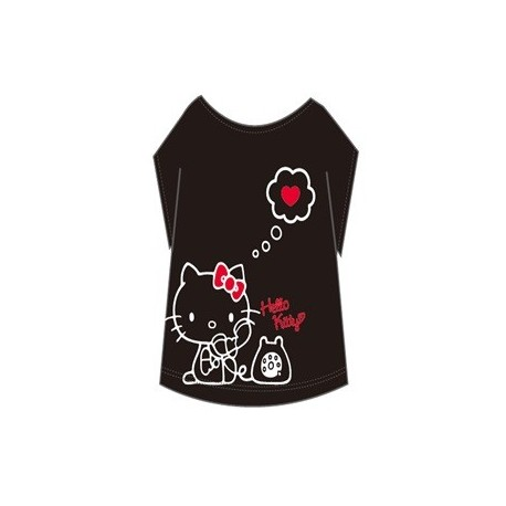 5b7ca07cf Hello Kitty Adult T-Shirt:Telephone - The Kitty Shop