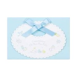 Baby Shower Card: Blue