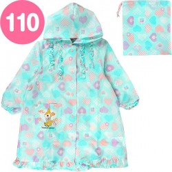 Hummingmint Raincoat: 110 Heart