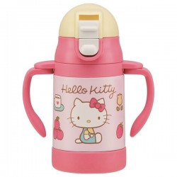 Hello Kitty Handle Stainless Mug