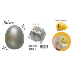Gudetama Squishy Silver